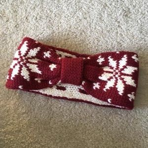 Patterned Knit Headband